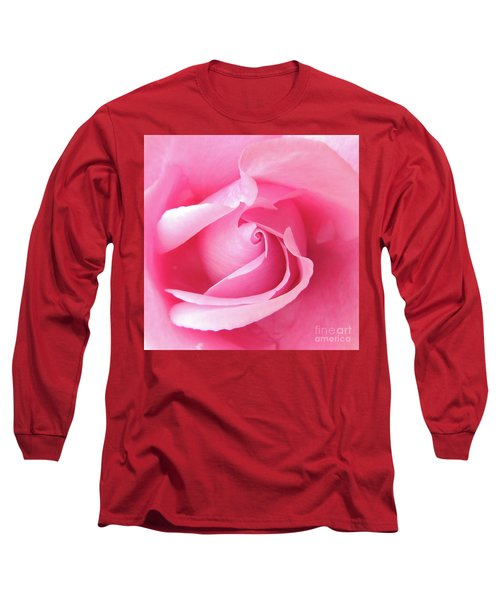 Pretty In Pink Long Sleeve T-Shirt by Scott Cameron