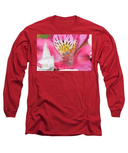Pretty Pink Long Sleeve T-Shirt by Nance Larson