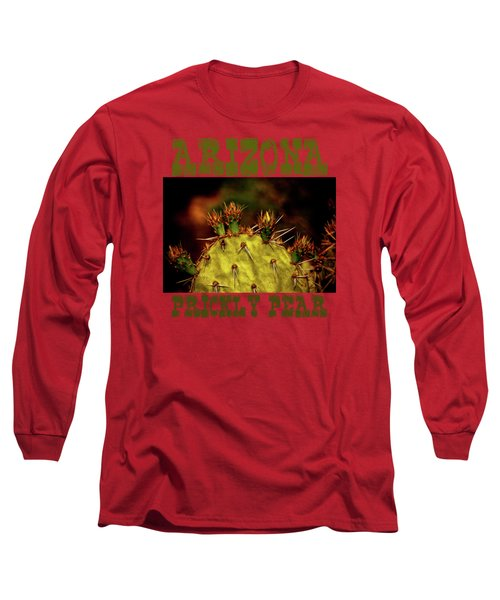 Prickly Pear Spring Long Sleeve T-Shirt by Roger Passman