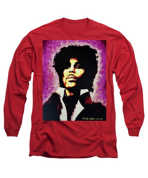 Prince Long Sleeve T-Shirt by Victor Minca