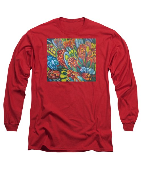 Proteas At Noon 2015 Long Sleeve T-Shirt