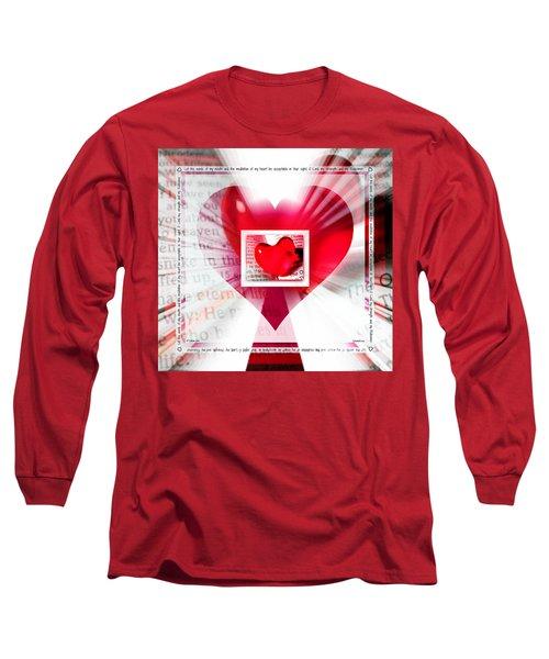 Psalm 19 Meditating Long Sleeve T-Shirt