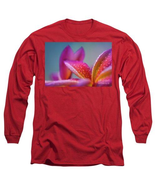 Long Sleeve T-Shirt featuring the photograph Pua Melia Ke Aloha Hawaii  by Sharon Mau