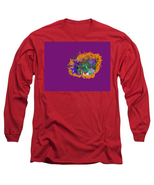 Puff Of Color Long Sleeve T-Shirt