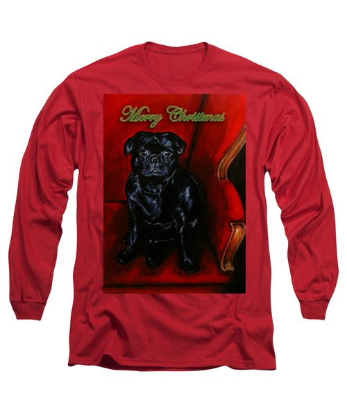 Puggsley Christmas Long Sleeve T-Shirt