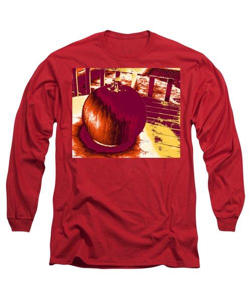 Pumpkin #5 Long Sleeve T-Shirt