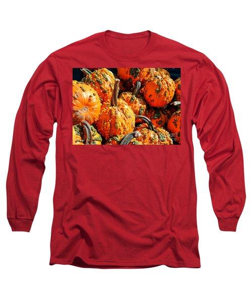 Pumpkins With Warts Long Sleeve T-Shirt
