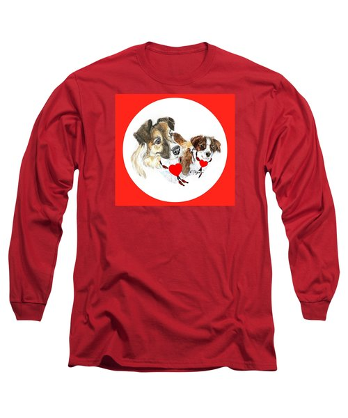 Puppy Christmas Long Sleeve T-Shirt