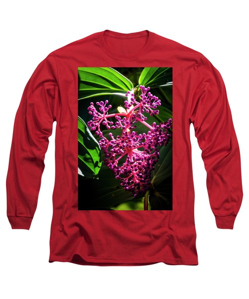 Purple Plant Long Sleeve T-Shirt