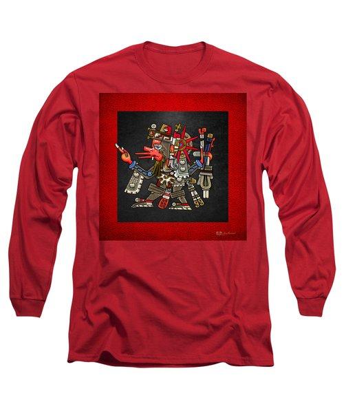 Quetzalcoatl - Codex Borgia Long Sleeve T-Shirt