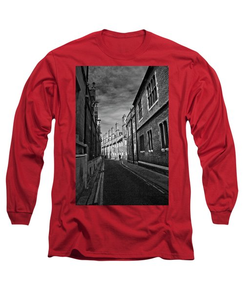 Quiet Alley Cambridge Uk Long Sleeve T-Shirt