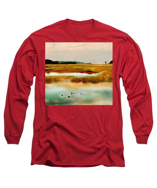 Racing The Tide Long Sleeve T-Shirt