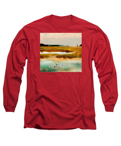 Racing The Tide Long Sleeve T-Shirt