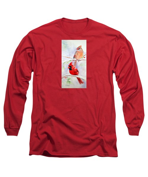 Radiance Of Cardinals Long Sleeve T-Shirt