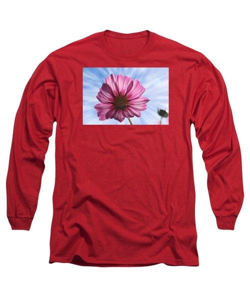Radiant Cosmos Long Sleeve T-Shirt by Yumi Johnson
