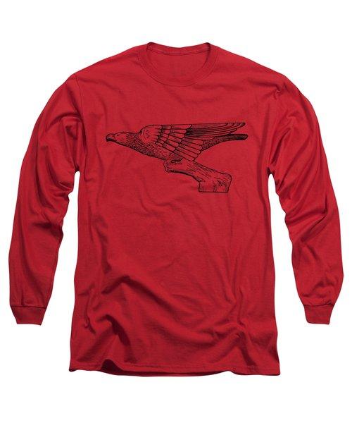 Radiator Cap Patent 1926 Long Sleeve T-Shirt by Mark Rogan
