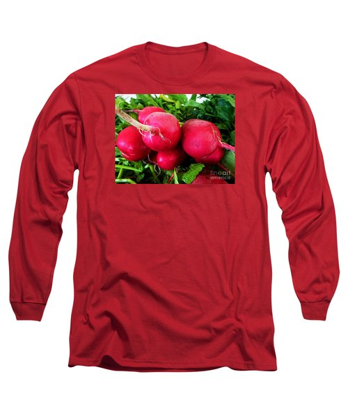 Radish Bottoms Long Sleeve T-Shirt by Dee Flouton