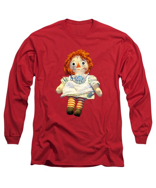 Raggedy Ann Doll Long Sleeve T-Shirt