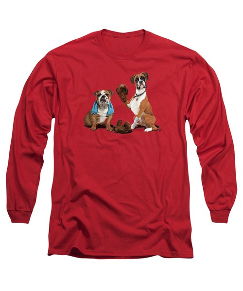 Raging Colour Long Sleeve T-Shirt