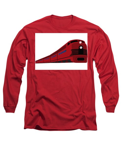 Rail Long Sleeve T-Shirt by Now