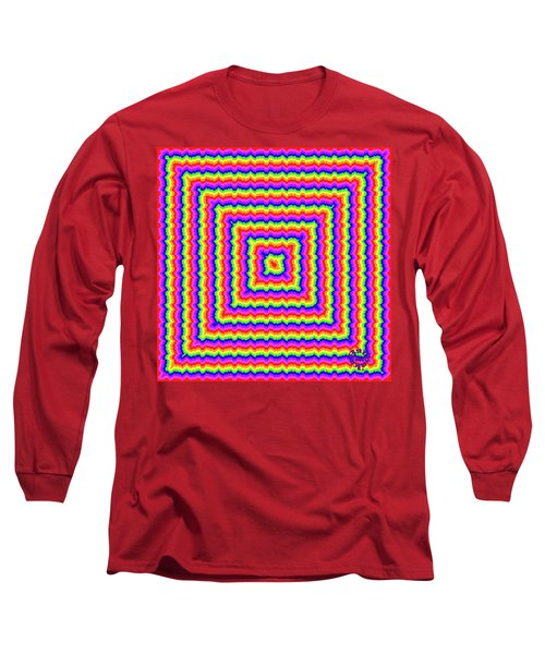 Long Sleeve T-Shirt featuring the digital art Rainbow #3 by Barbara Tristan