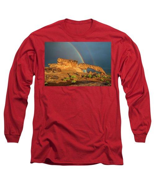 Rainbow Arch Long Sleeve T-Shirt
