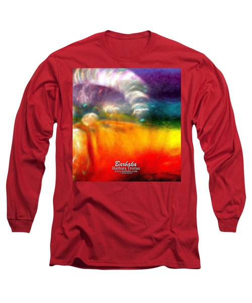Rainbow Bliss #052833_ii Long Sleeve T-Shirt by Barbara Tristan