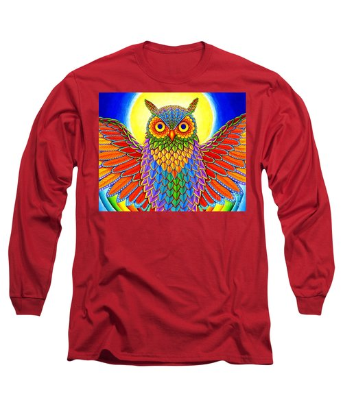 Rainbow Owl Long Sleeve T-Shirt