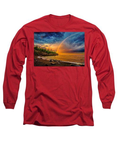 Rainbow Point Long Sleeve T-Shirt