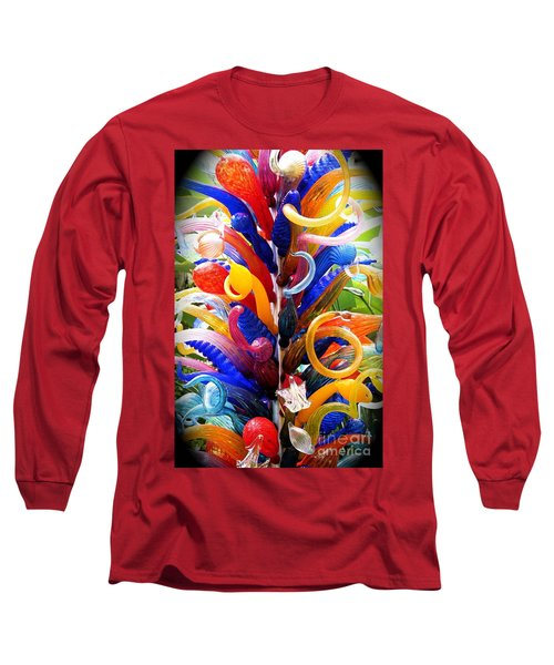 Rainbow Spirals Long Sleeve T-Shirt