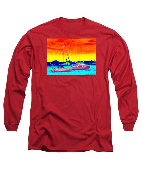 Rainbow Tide Long Sleeve T-Shirt