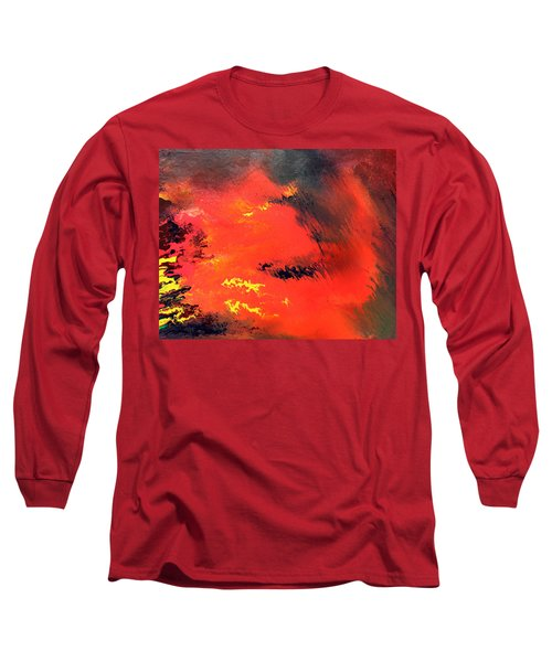 Raining Fire Long Sleeve T-Shirt