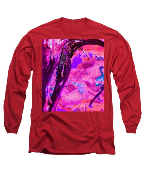 Reaching Beyond The Blue Long Sleeve T-Shirt