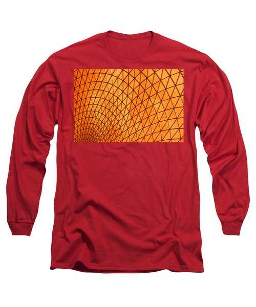 Long Sleeve T-Shirt featuring the photograph Orange Glow by Elvira Butler