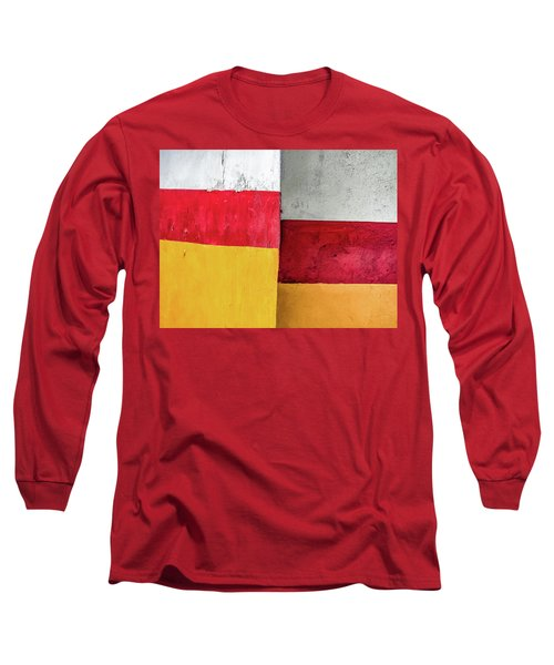 Rectangles With Presence Long Sleeve T-Shirt