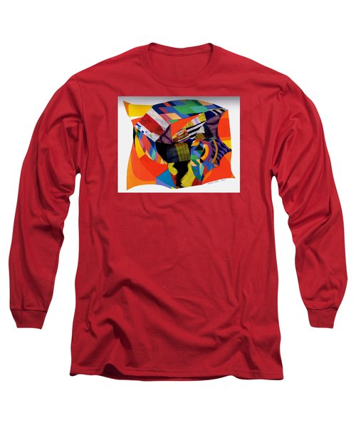 Recycled Art Long Sleeve T-Shirt by Paul Meinerth