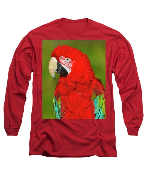 Long Sleeve T-Shirt featuring the photograph Red And Green by Tony Beck