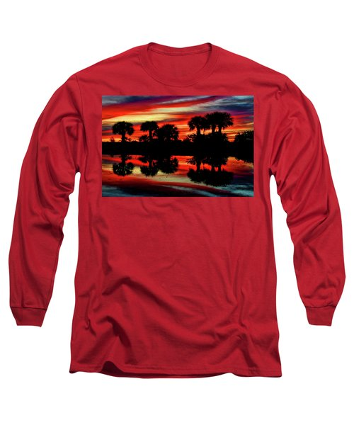 Red At Night Long Sleeve T-Shirt