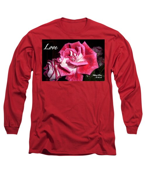 Red Beauty 3 - Love Long Sleeve T-Shirt