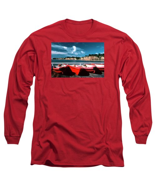 Red Boat Diaries Long Sleeve T-Shirt