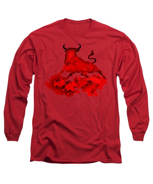 Red Bull Long Sleeve T-Shirt