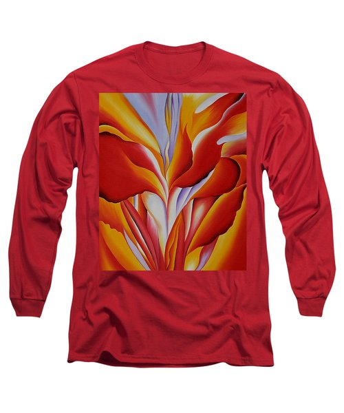 Red Canna Long Sleeve T-Shirt