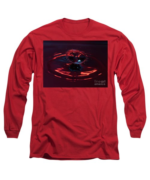 Red Carousel Long Sleeve T-Shirt