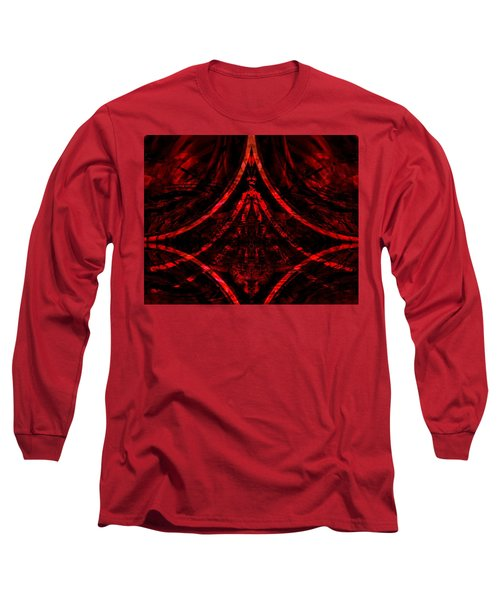 Red Competition Long Sleeve T-Shirt