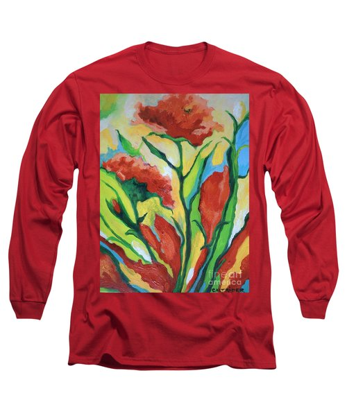 Red Delight Long Sleeve T-Shirt