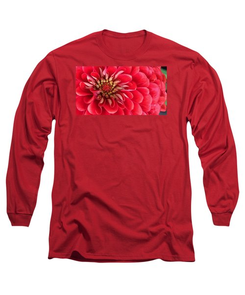 Red Explosion Long Sleeve T-Shirt