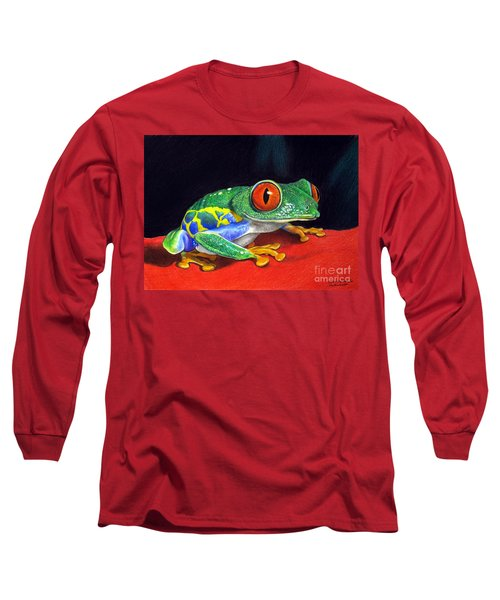 Red Eyed Tree Frog Long Sleeve T-Shirt