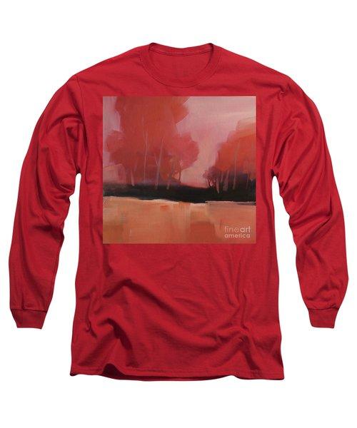 Red Flair Long Sleeve T-Shirt