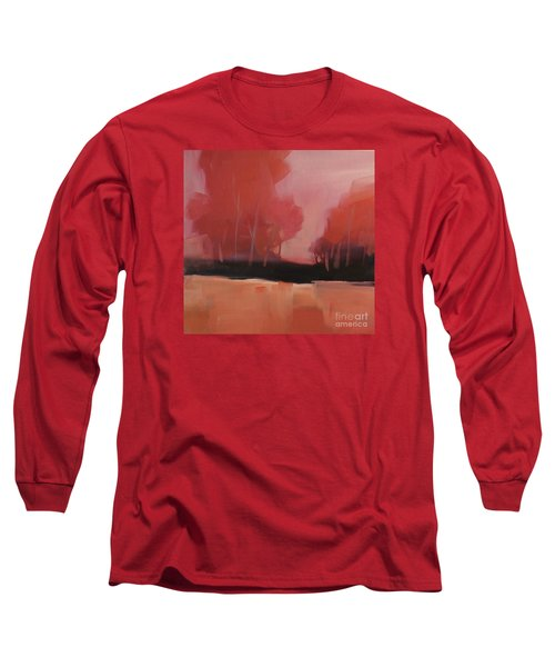 Red Flair Long Sleeve T-Shirt