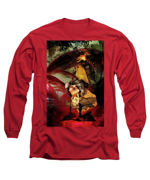 Red Girl Long Sleeve T-Shirt